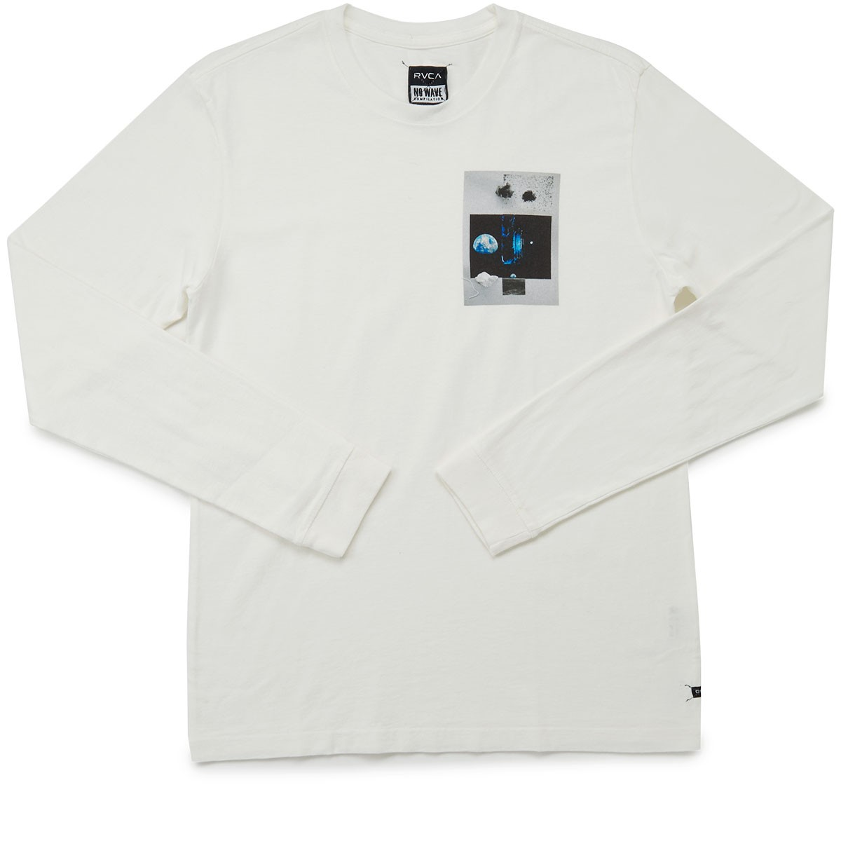 RVCA Natural Long Sleeve T-Shirt - Vintage White