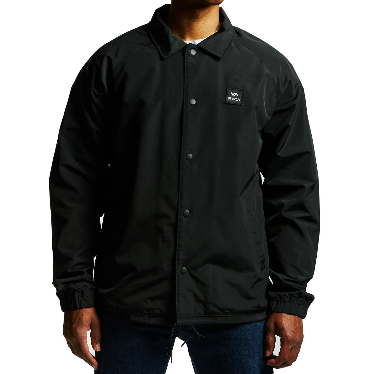 ce335a51a RVCA VA All The Way Coach Jacket - Black