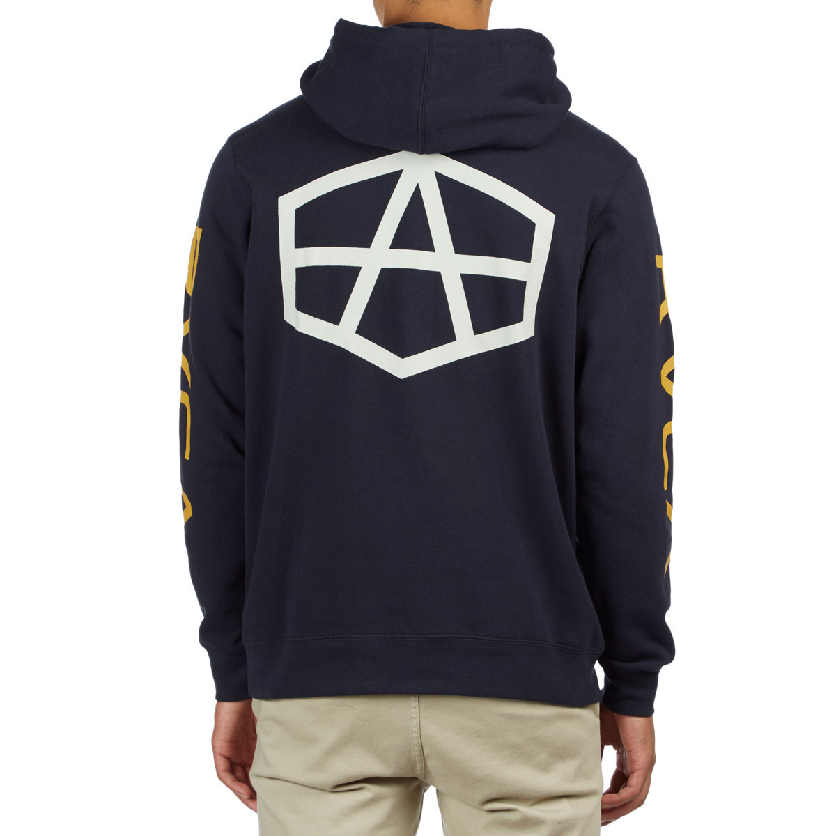 RVCA Andrew Reynolds Pullover Hoodie New Navy