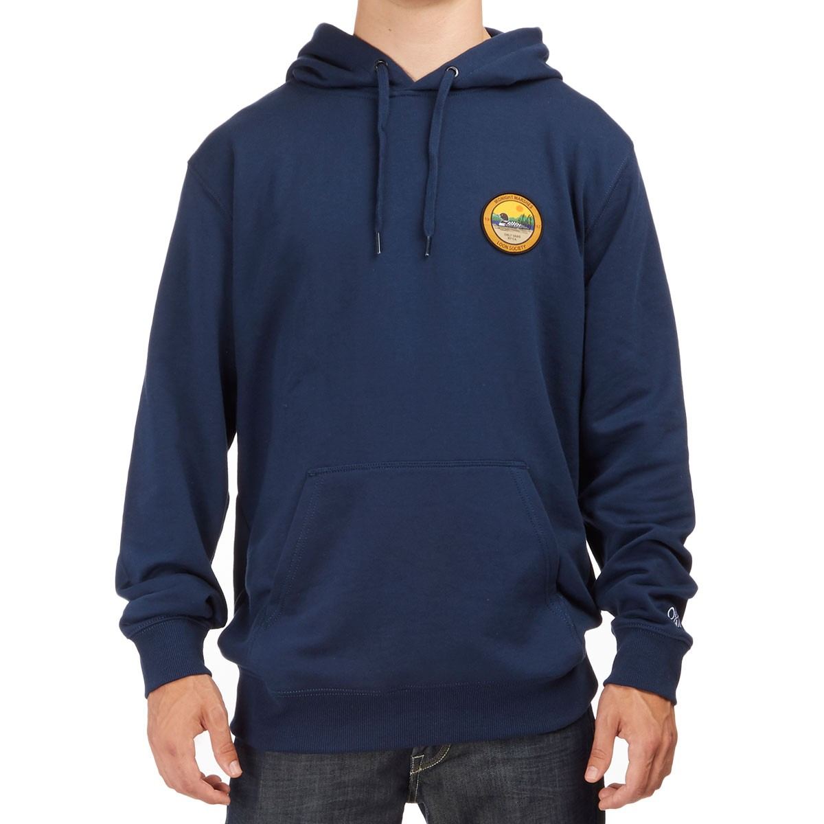 Vans X Only Loon Society Pullover Hoodie - Dress Blues