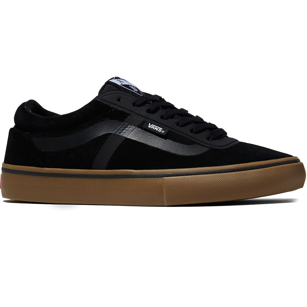 Vans AV RapidWeld Pro Shoes - Black/Gum - 8.0
