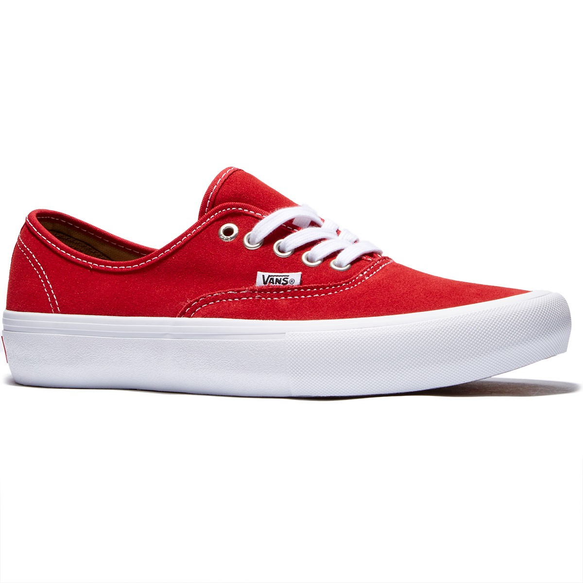 Vans Authentic Pro Shoes - Red/White - 8.0