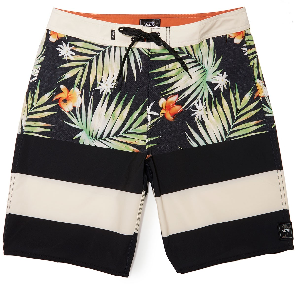 f809cbbc6a6b9 Vans Era Boardshorts - Black Decay Palm