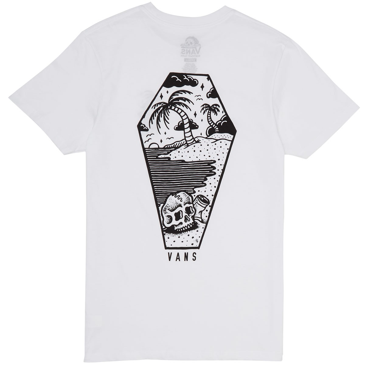 Vans X Sketchy Tank Sketched Out T-Shirt - White