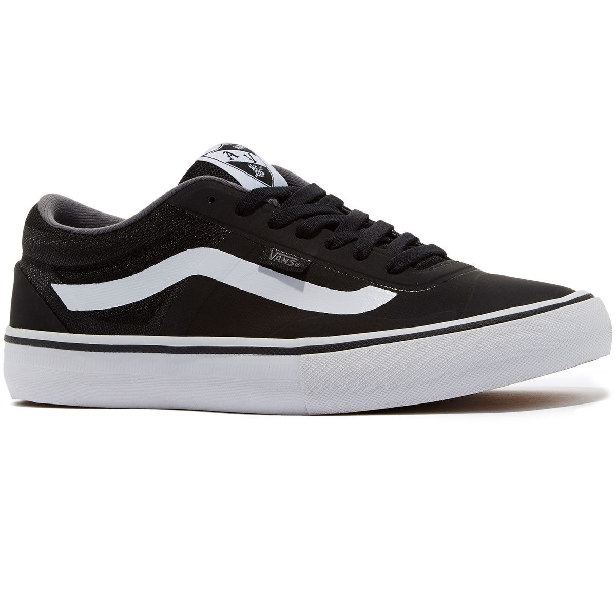4145ba613a82 Vans AV RapidWeld Pro Lite Shoes - Black White - 8.0