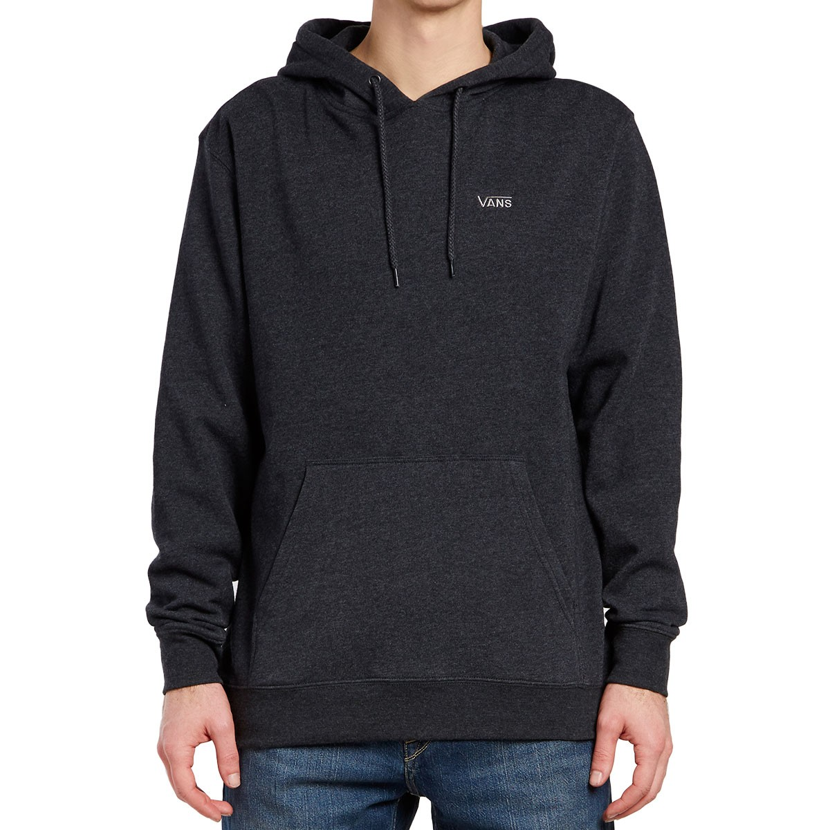 d2d504139d Vans Core Basics Pullover IV Hoodie - Black Heather