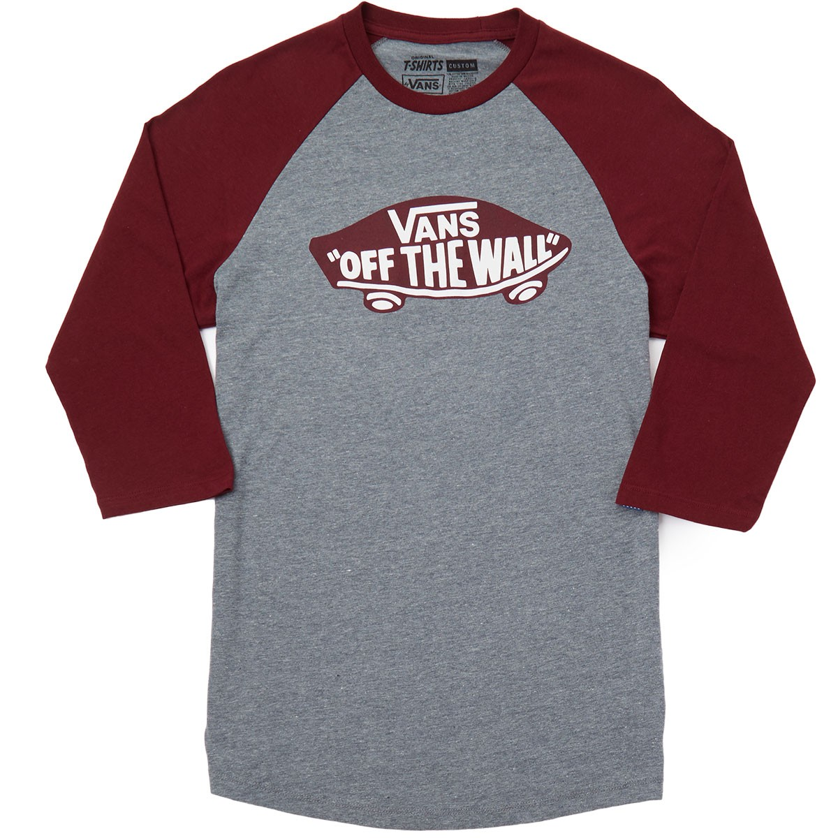 7c0239b7129 Vans Off The Wall T Shirt Red
