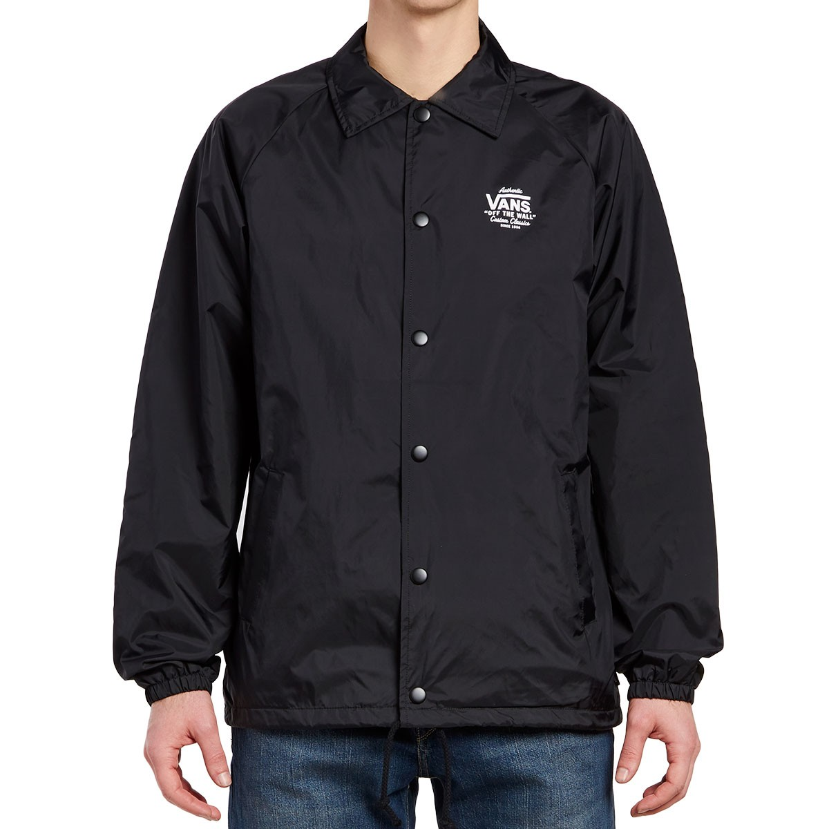Vans Torrey Coaches Jacket Black White