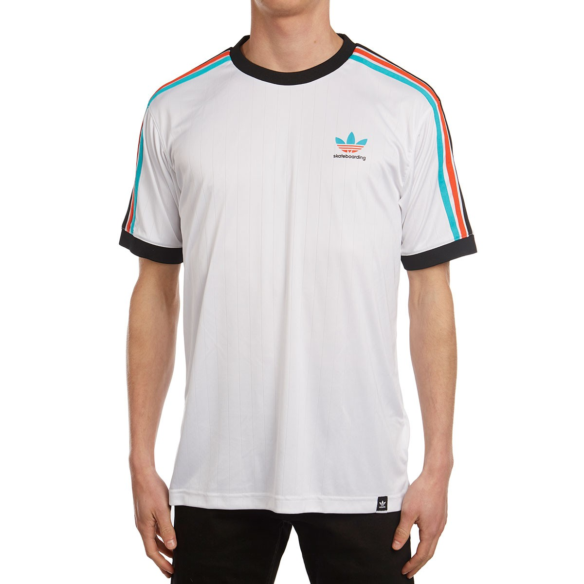 a91c6875c Adidas Clima Club Jersey - White/Energy Blue/Black