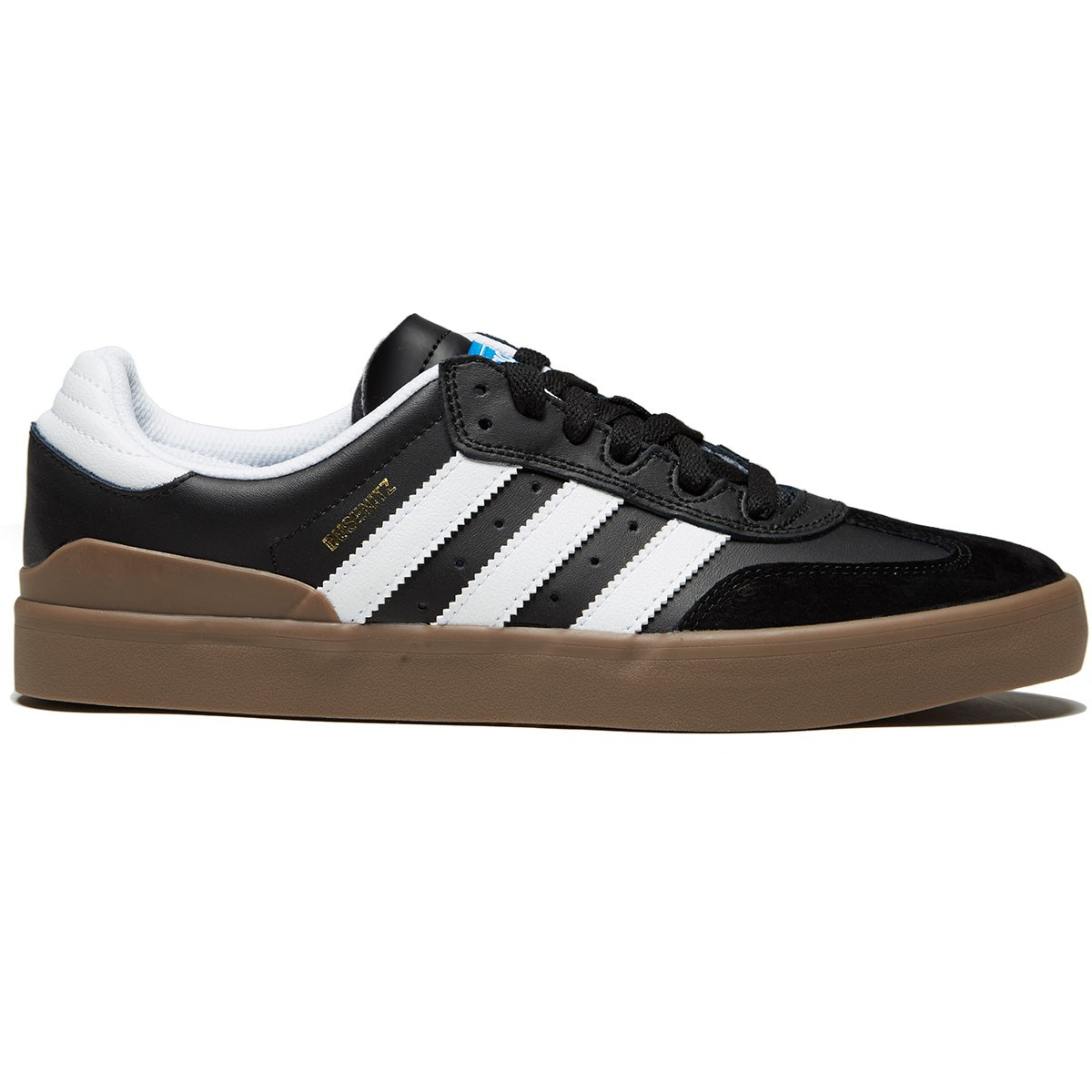 new concept a69d8 42ff1 Adidas Busenitz Vulc Rx Shoes - Core Black White Gum