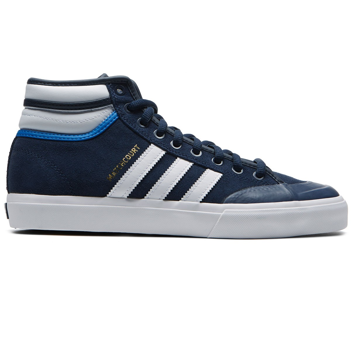 cbd94df48b Adidas Matchcourt High RX2 Shoes - Collegiate Navy White Bluebird - 8.0