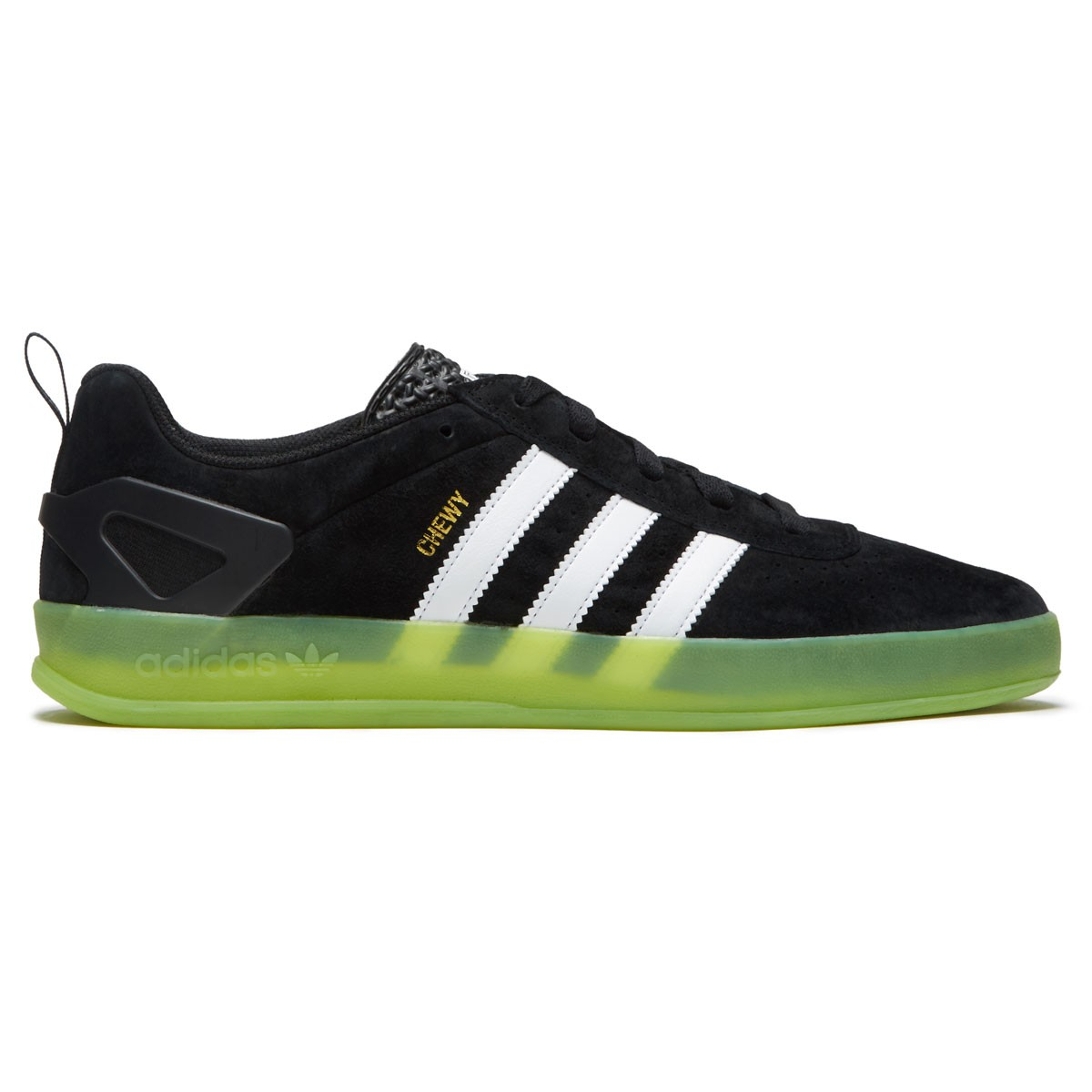 070c99d9742f Adidas X Palace Pro Chewy Shoes - Black White Solar Green - 10.0