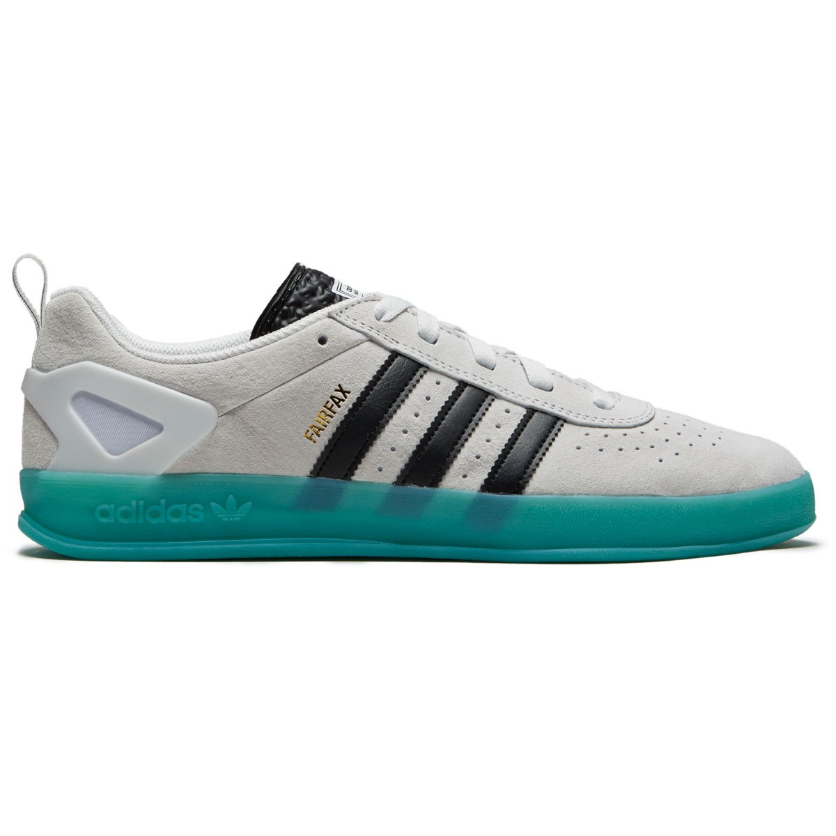 0b1be9daae4e Adidas X Palace Pro Benny Shoes - White Black Bright Cyan - 10.0