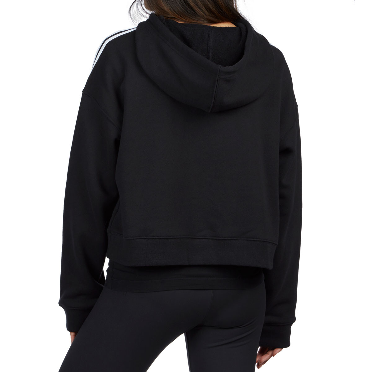 100% quality new collection official Adidas Cropped Womens Hoodie - Black