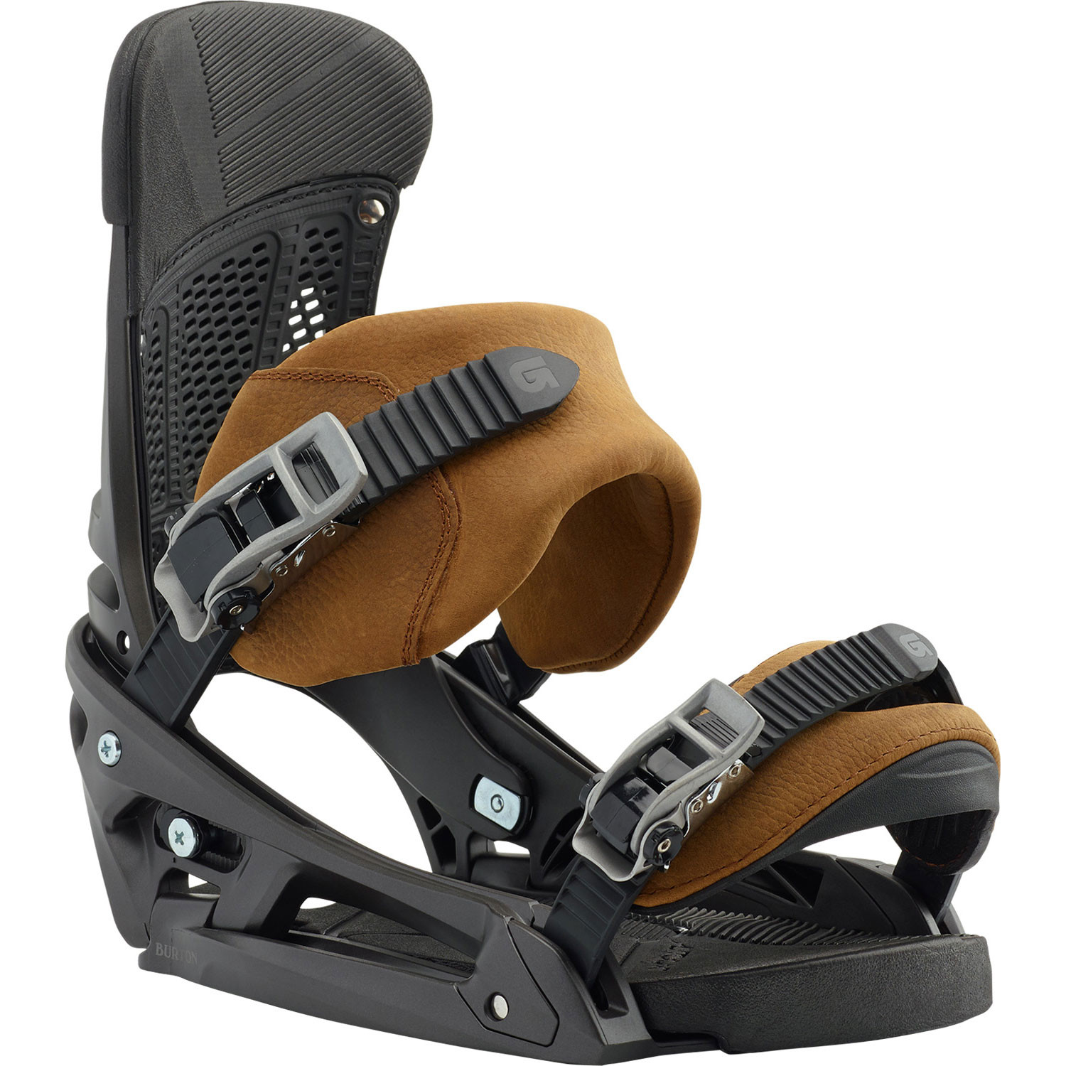 Burton Malavita EST Leather 2019 Snowboard Bindings