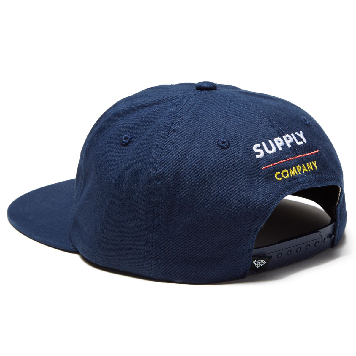 4d0f611f62ded Diamond Supply Co. 6 Panel Unstructured Snapback Hat - Teal