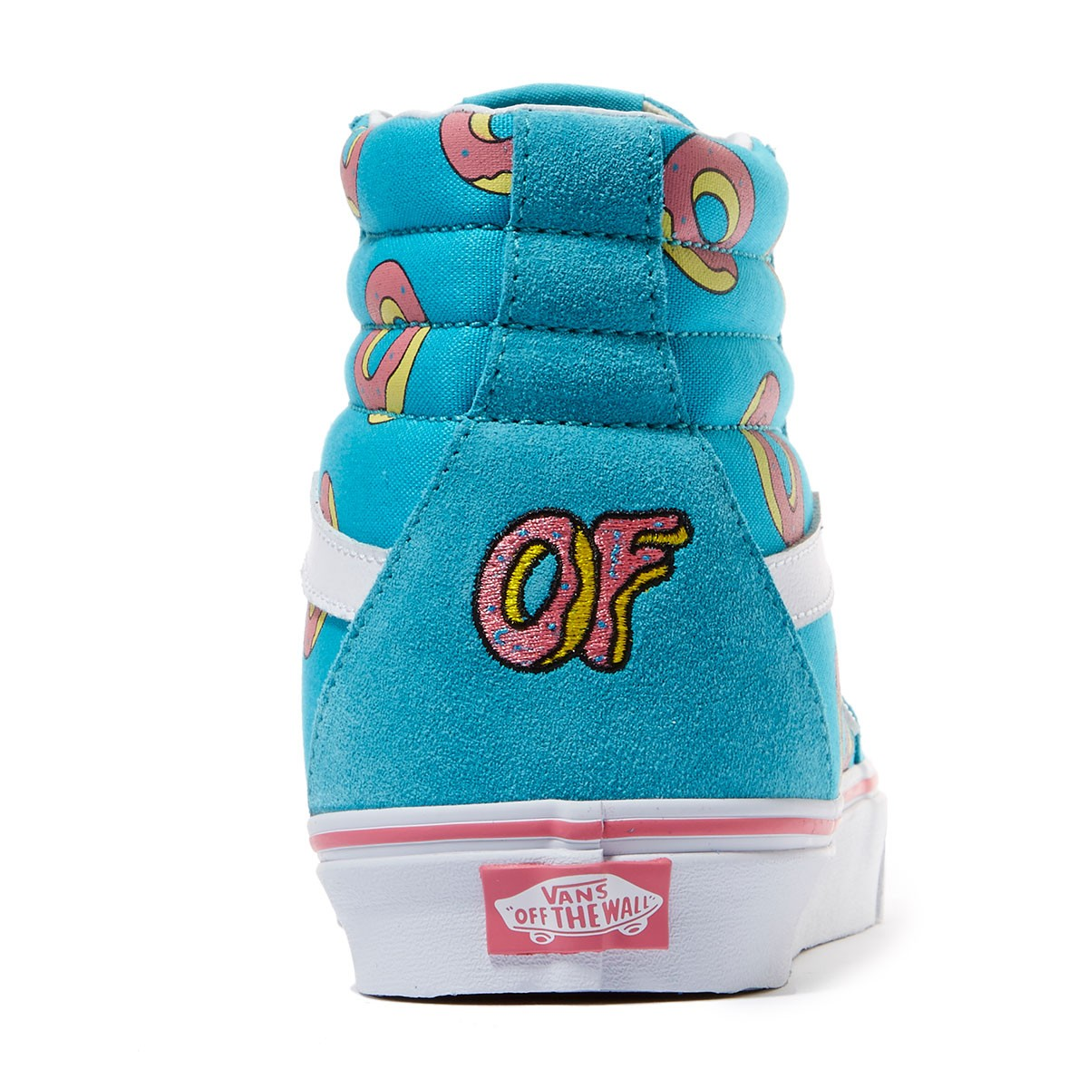 92e508bc684 Vans X Odd Future SK8-HI Shoes - Future Donut Scuba Blue - 7.0