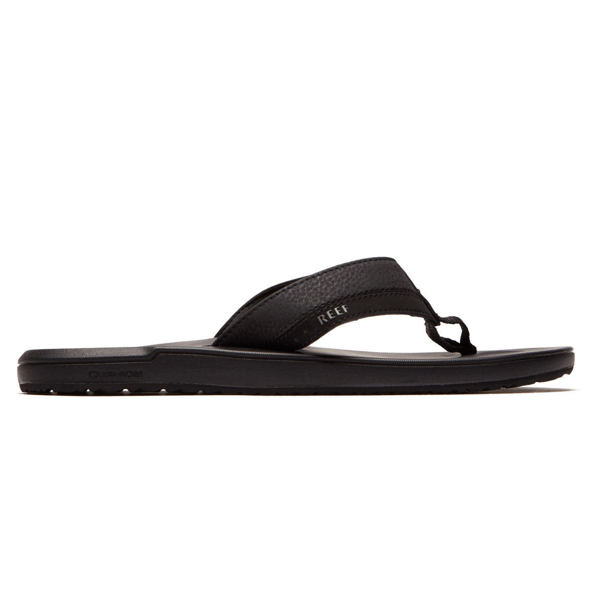 234bd07bf820 Reef Contoured Cushion Sandals - Black - 10.0