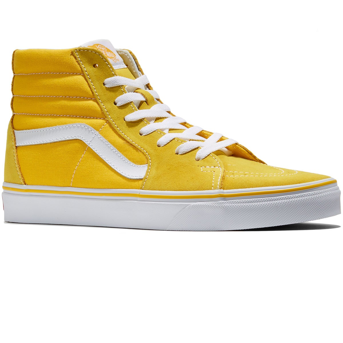 d467c9e0a95666 ... Mens Yellow Vans Sk8-Hi Pro Shoes ...