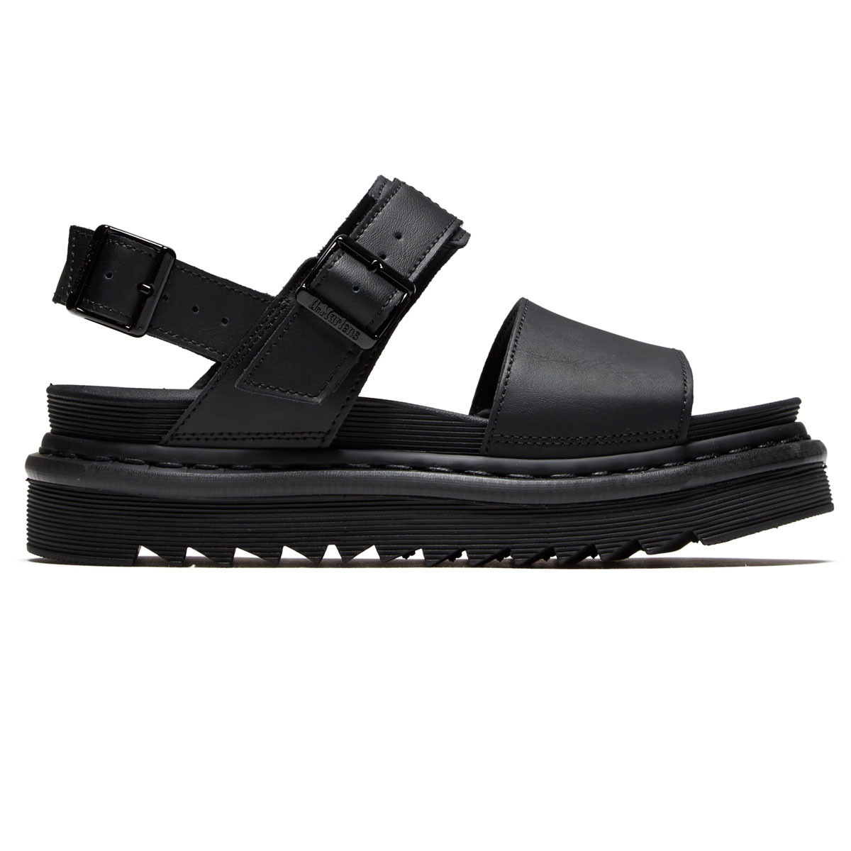 47384caa37a6 Dr. Martens Womens Voss Sandal Shoes - Black - 10.0
