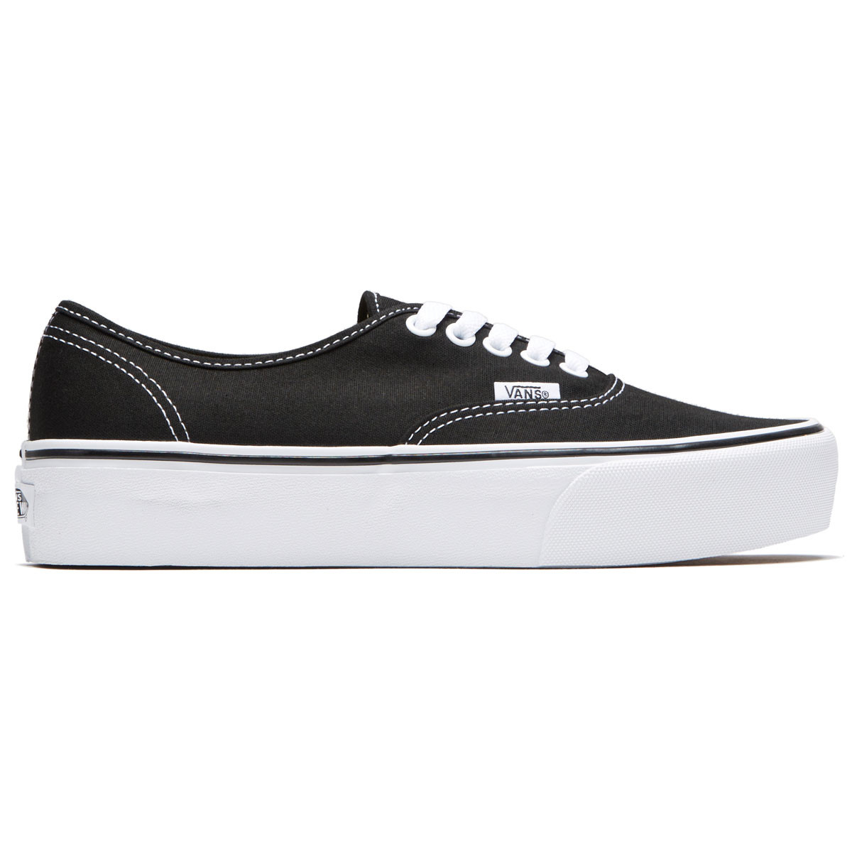 0701530d4b Vans Unisex Authentic Platform 2.0 Shoes - Black - 4.5