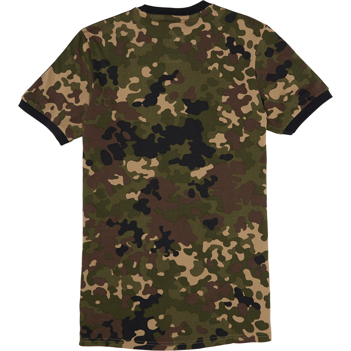 Adidas striped camo t shirt camo print black for Camouflage t shirt printing