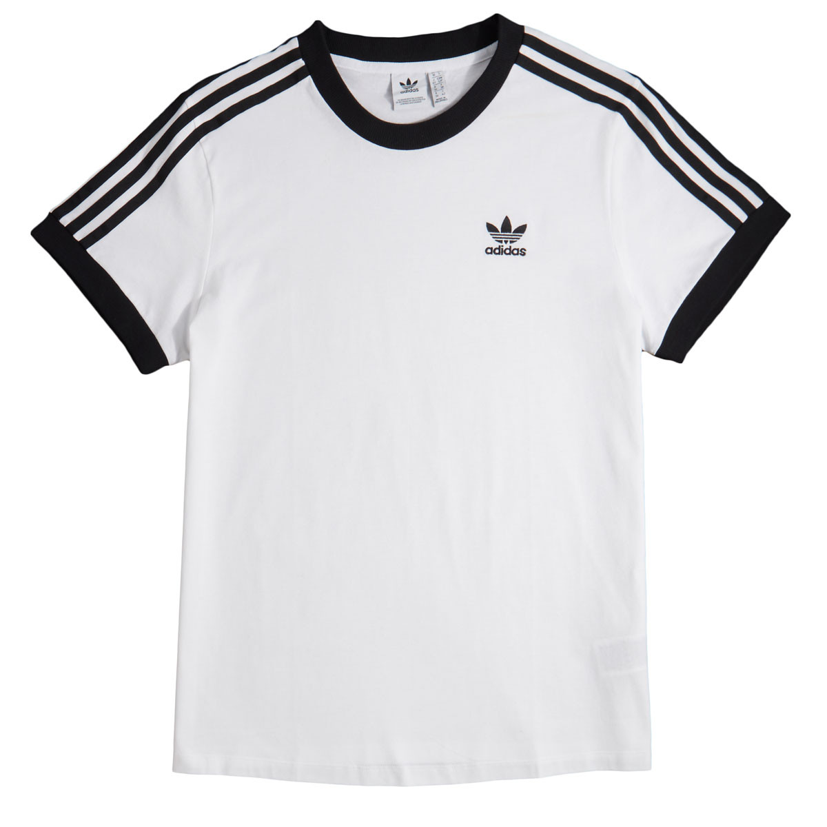 code promo 96d59 a09b6 Adidas Womens 3 Stripes T-Shirt - White
