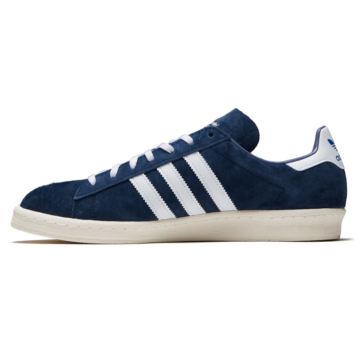0f77a3705cb Adidas Campus 80s RYR Shoes - Collegiate Navy White Chalk White - 13.0