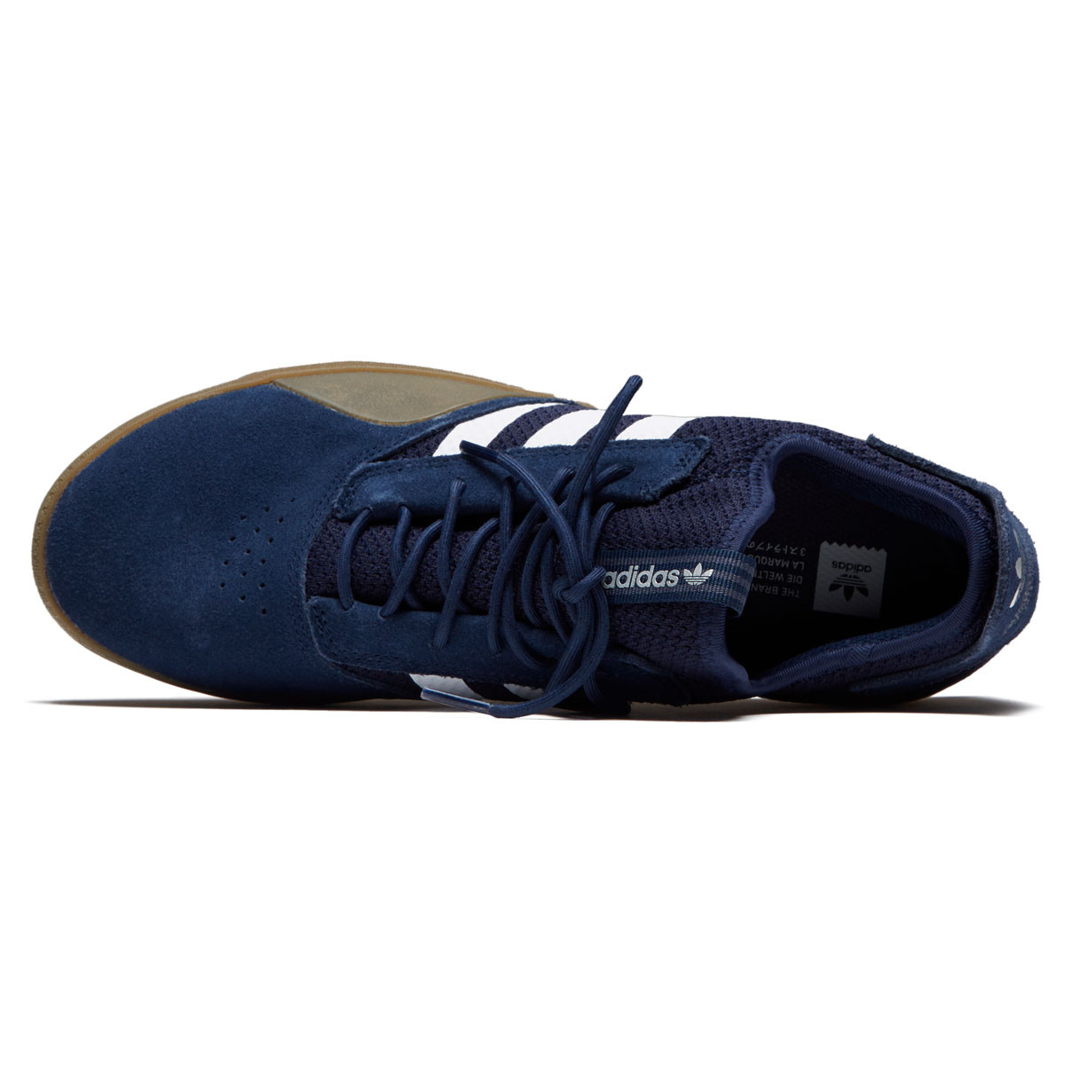 lowest price 19125 4a0cb Adidas 3ST.001 Shoes - Collegiate NavyWhiteGum - 8.0
