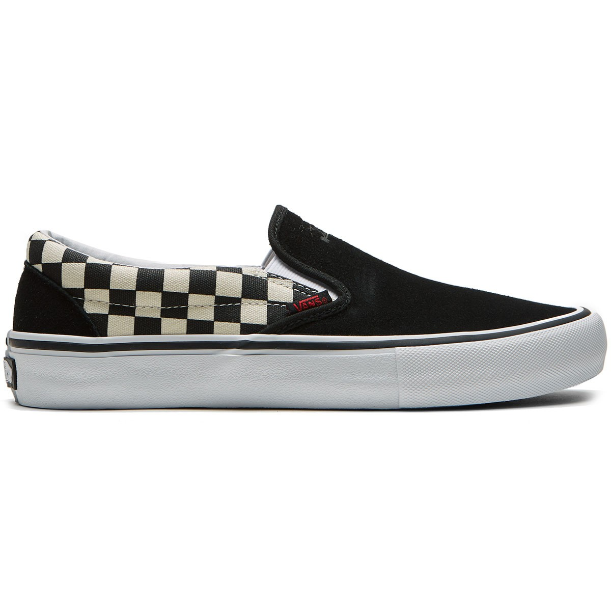 vans slip on pro checkerboard thrasher