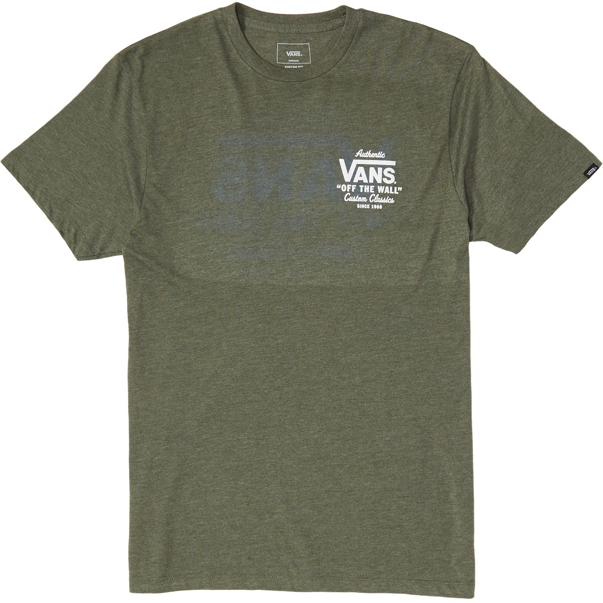 64ccadd15d Vans Holder Street II T-Shirt - Olive Heather