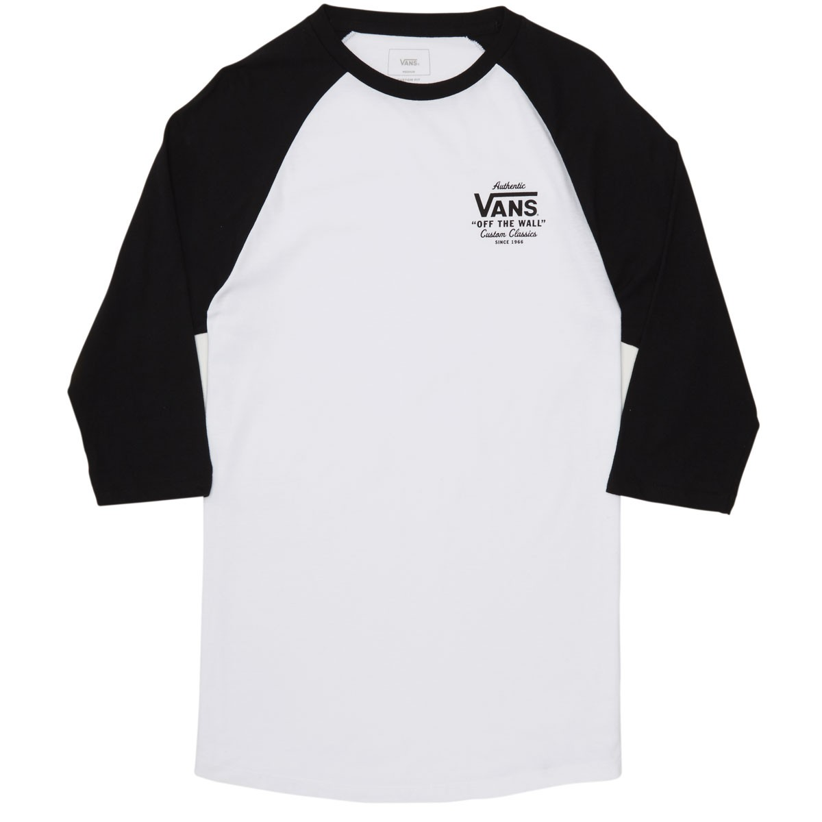7c628a8897 Vans Holder St Raglan T-Shirt - White Black