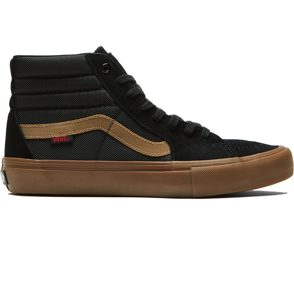 6949b631dd9ad2 Vans X Thrasher Sk8 Hi Pro Shoes - Thrasher Black Gum - 6.5