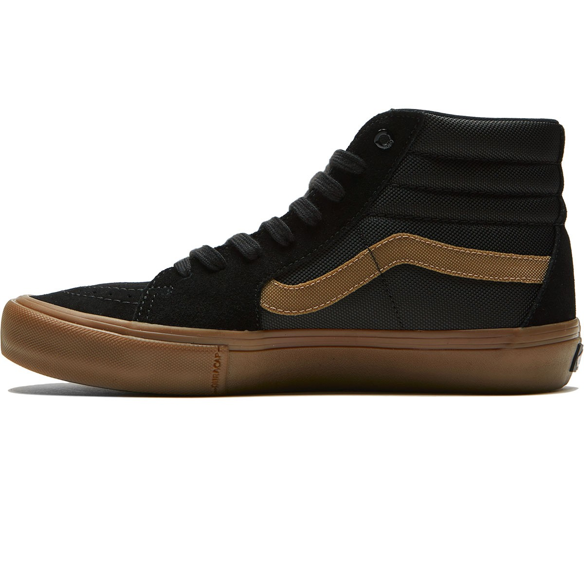 ff4fb11664b1 Vans X Thrasher Sk8 Hi Pro Shoes - Thrasher Black Gum - 6.5