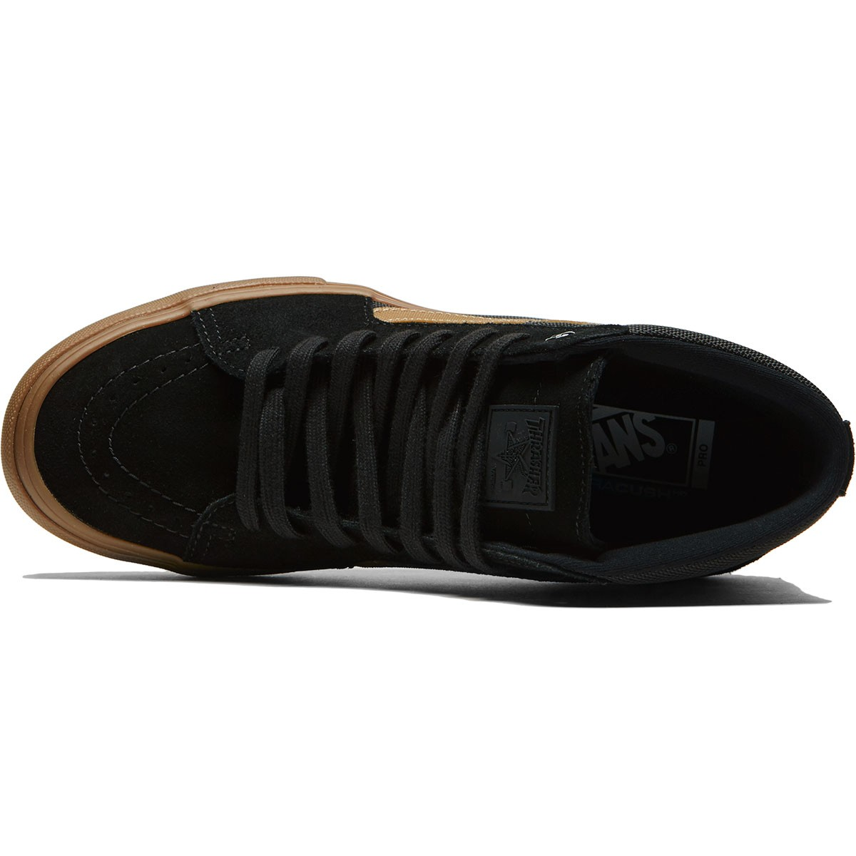 f52fc977e6 Vans X Thrasher Sk8 Hi Pro Shoes - Thrasher Black Gum - 6.5