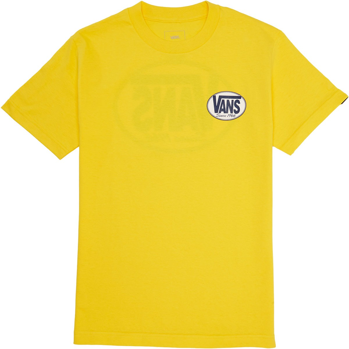 9df930360efe89 Vans Oval All T-Shirt - Yellow