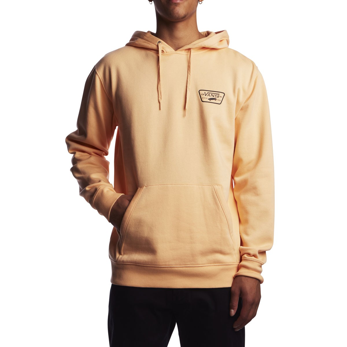 17d3e8b6c2 Vans Full Patched Hoodie - Apricot Ice