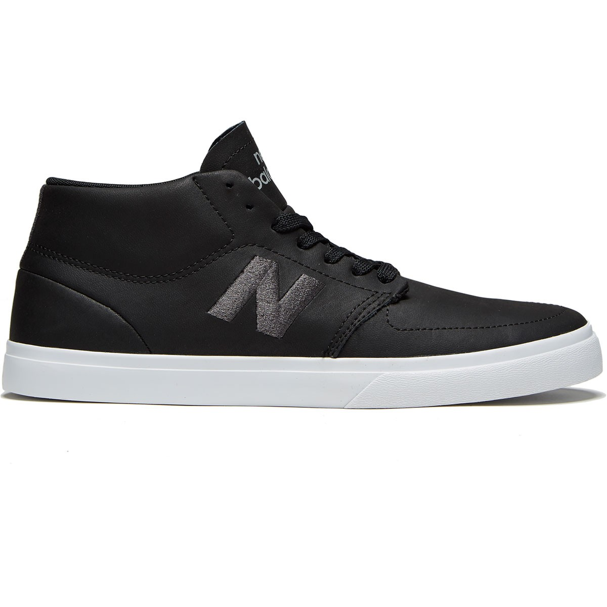 new balance skate shoes. new balance 346 mid shoes - black/grey skate