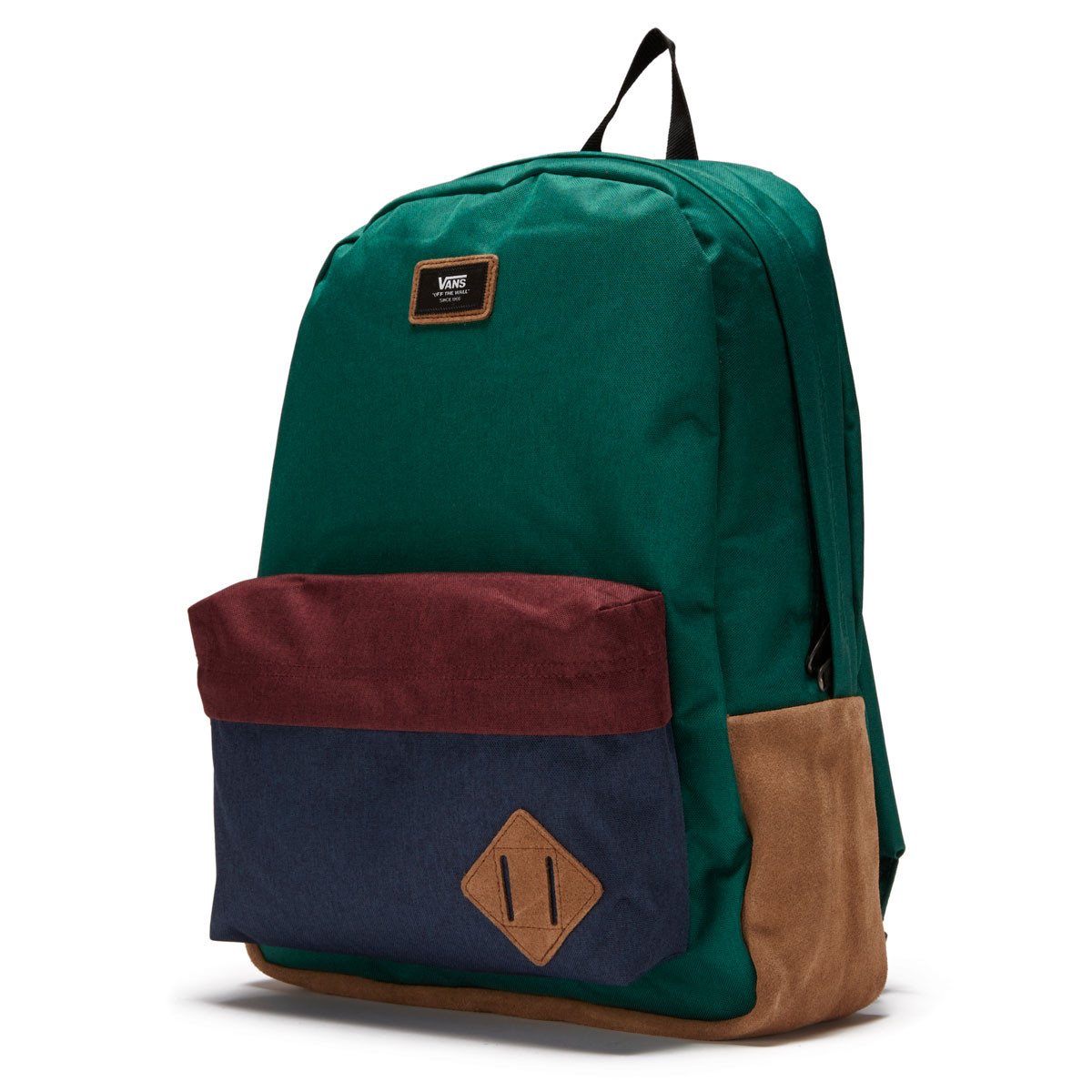 przed Sprzedaż style mody wylot online Vans Old Skool Backpack - Evergreen/Dress Blues