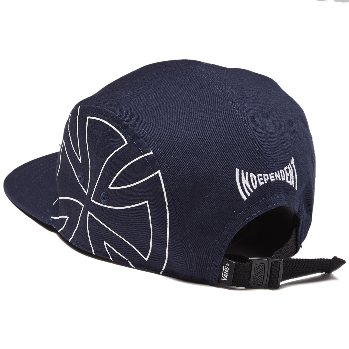 Vans x Independent 5-panel Camper Hat - Dress Blues 2ad56cd85a8