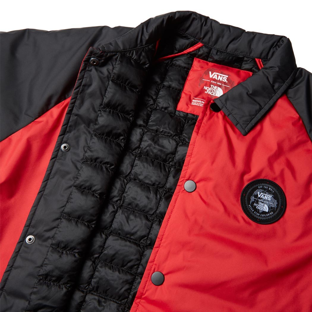 Vans X The North Face Torrey MTE Jacket - Red Black b7e3abcce