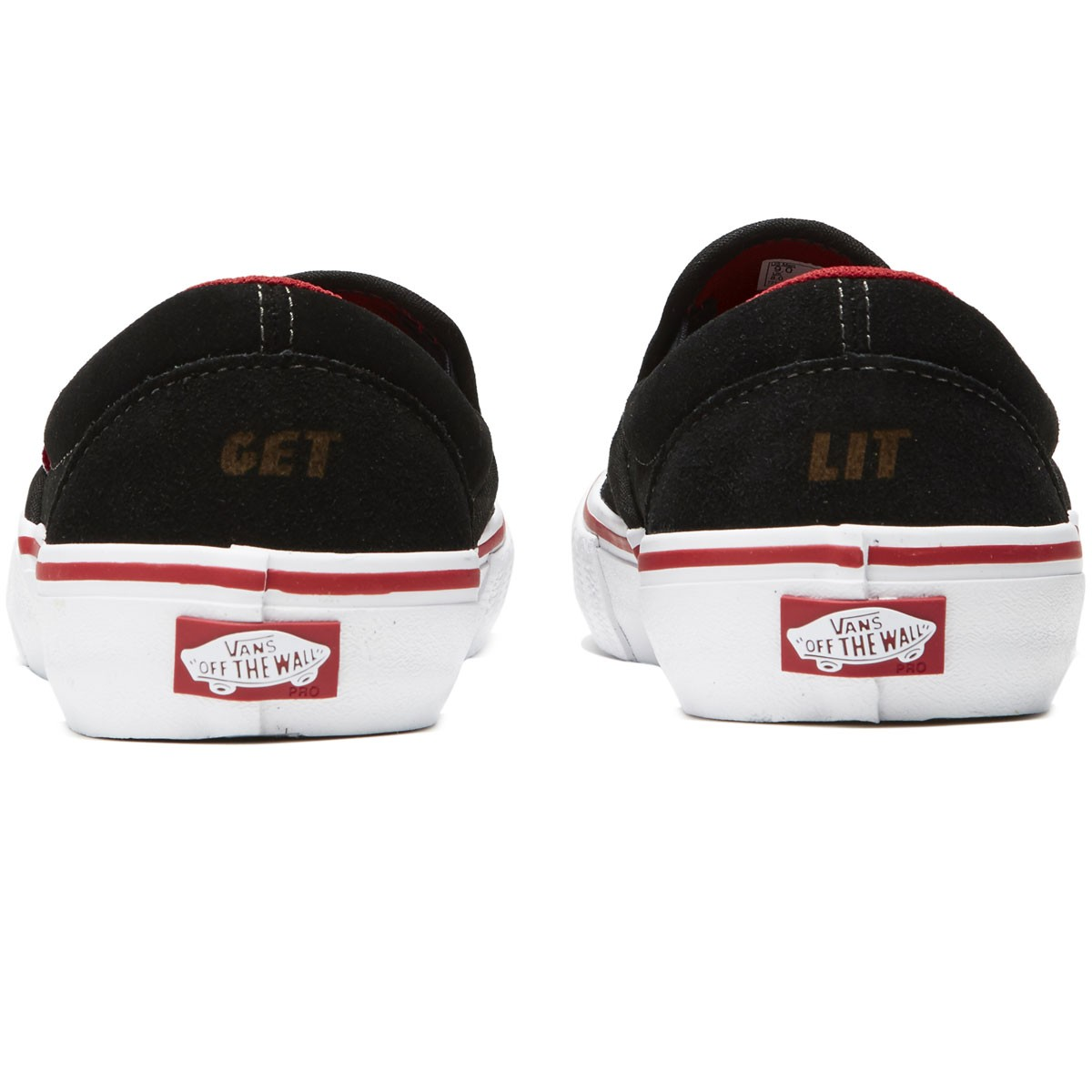 3c231ef2de Vans X Spitfire Slip On Pro Shoes
