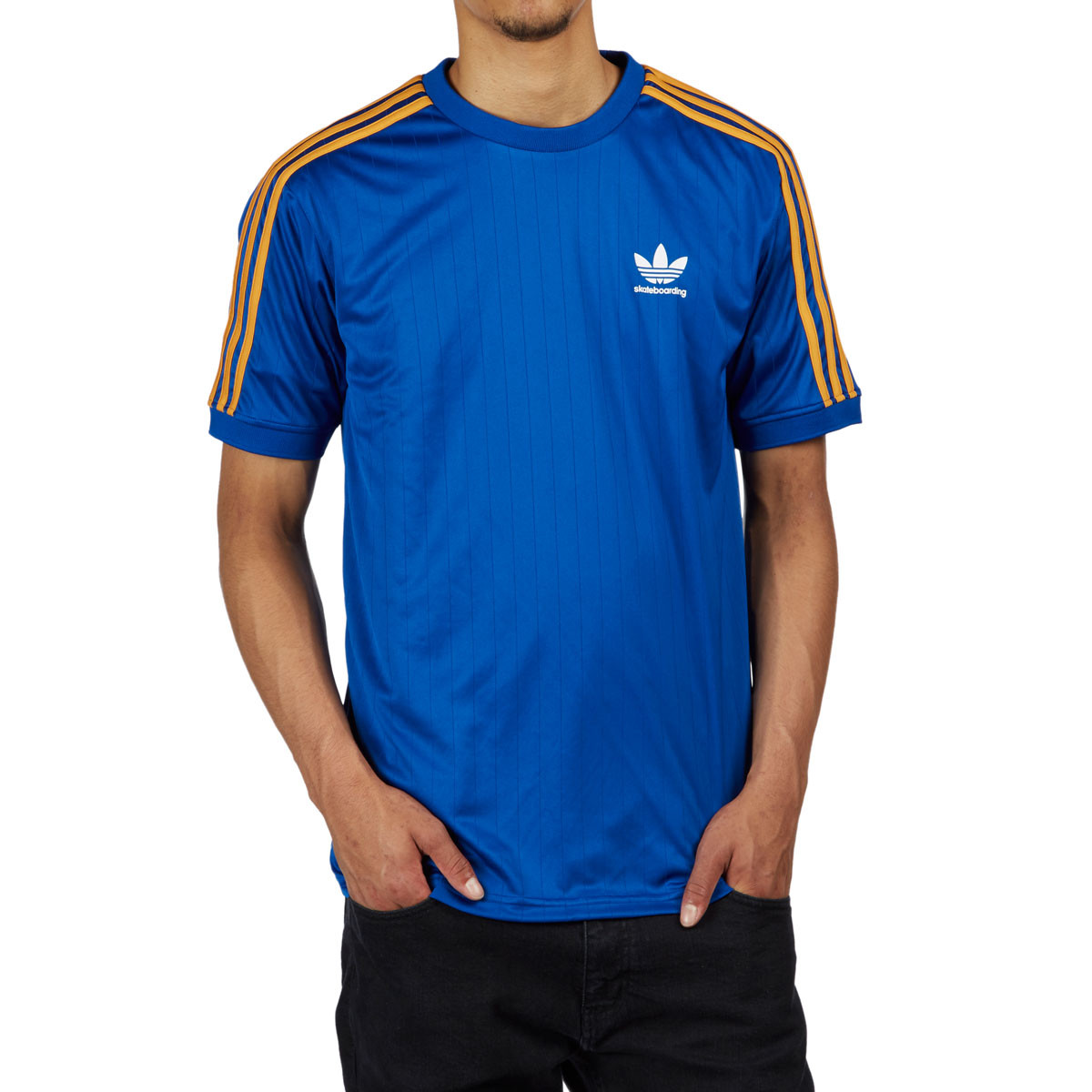 8585b87ee Adidas Clima Club Jersey - Collegiate Royal/Tactile Yellow