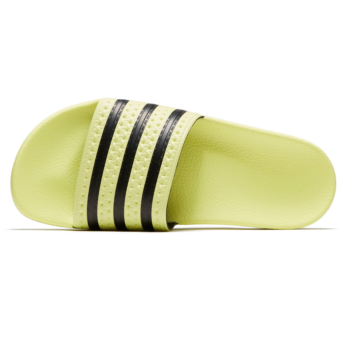 2667938a34f2 Adidas Womens Adilette Slides - Ice Yellow Ice Yellow Black