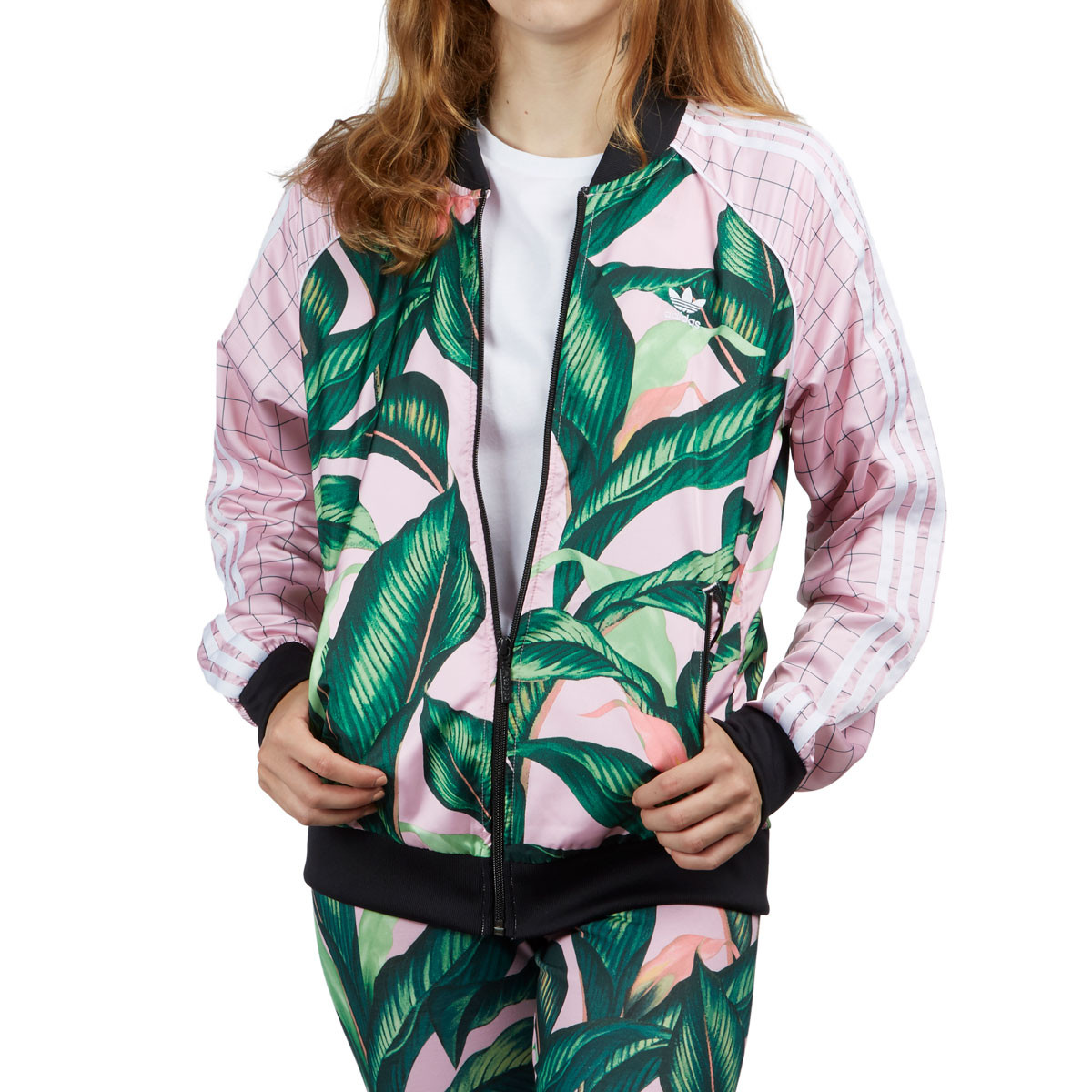 Adidas SST Womens Track Jacket - Multicolor Pink 109bc5439c