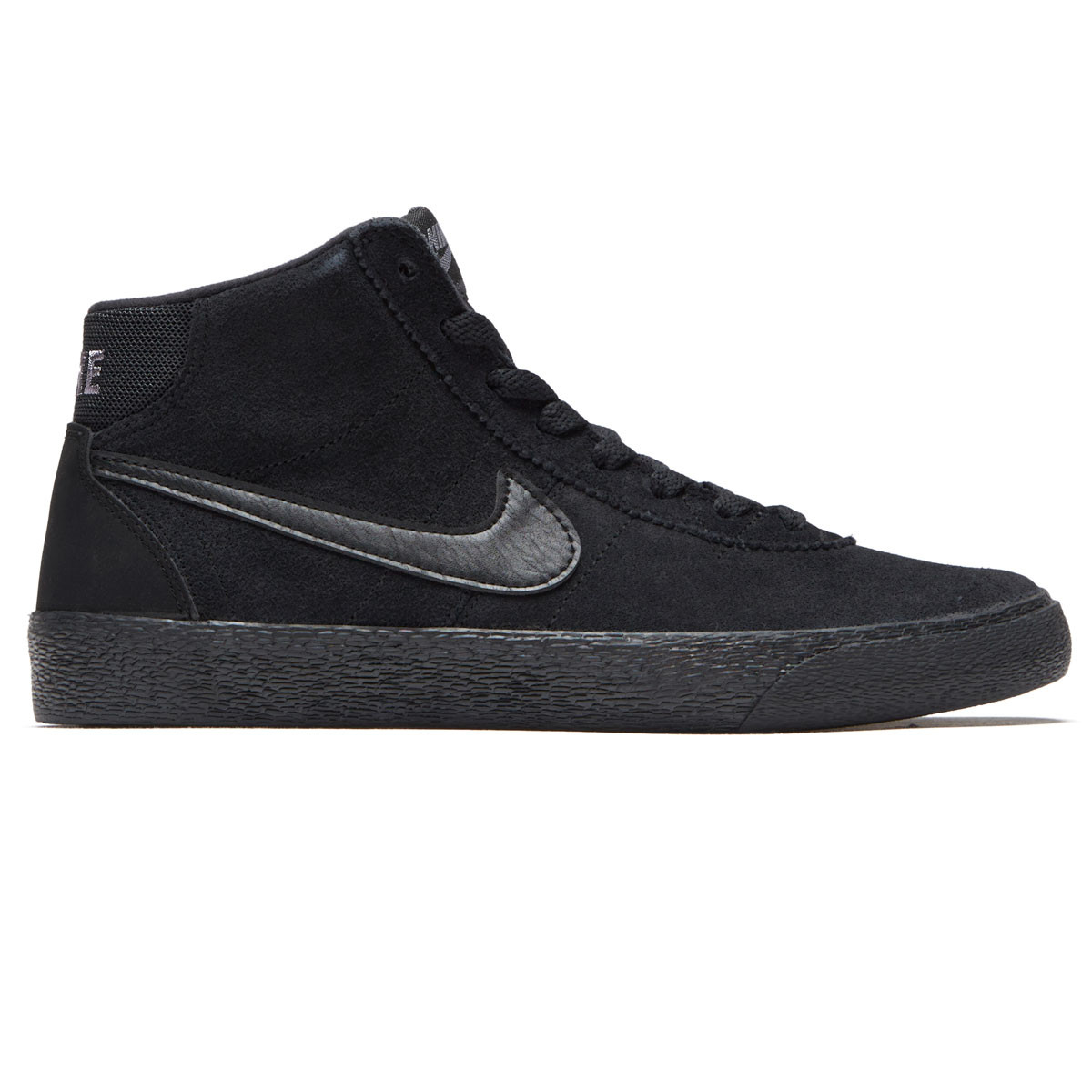 Nike SB Womens Bruin Hi Shoes - Black Black Gunsmoke - 6.0 64bc9bf04