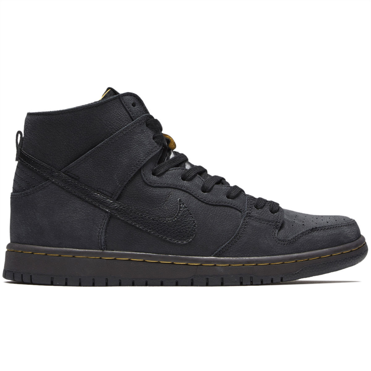 Nike SB Zoom Dunk High Pro Deconstructed Premium Shoes - Black Black Velvet  Brown 81f80d917