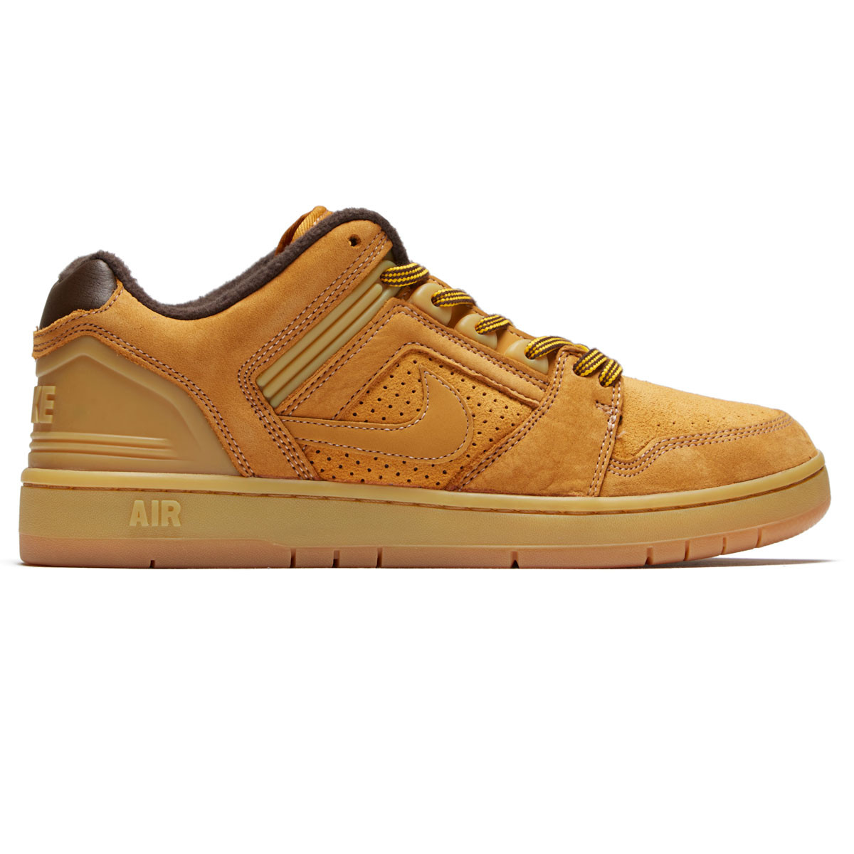 fee9436bf6cde Nike SB Air Force II Low Premium Shoes - Bronze Bronze Baroque Brown -