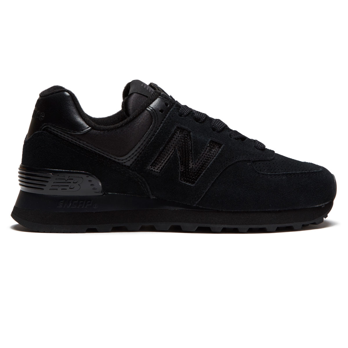 new balance trainers women 574 black