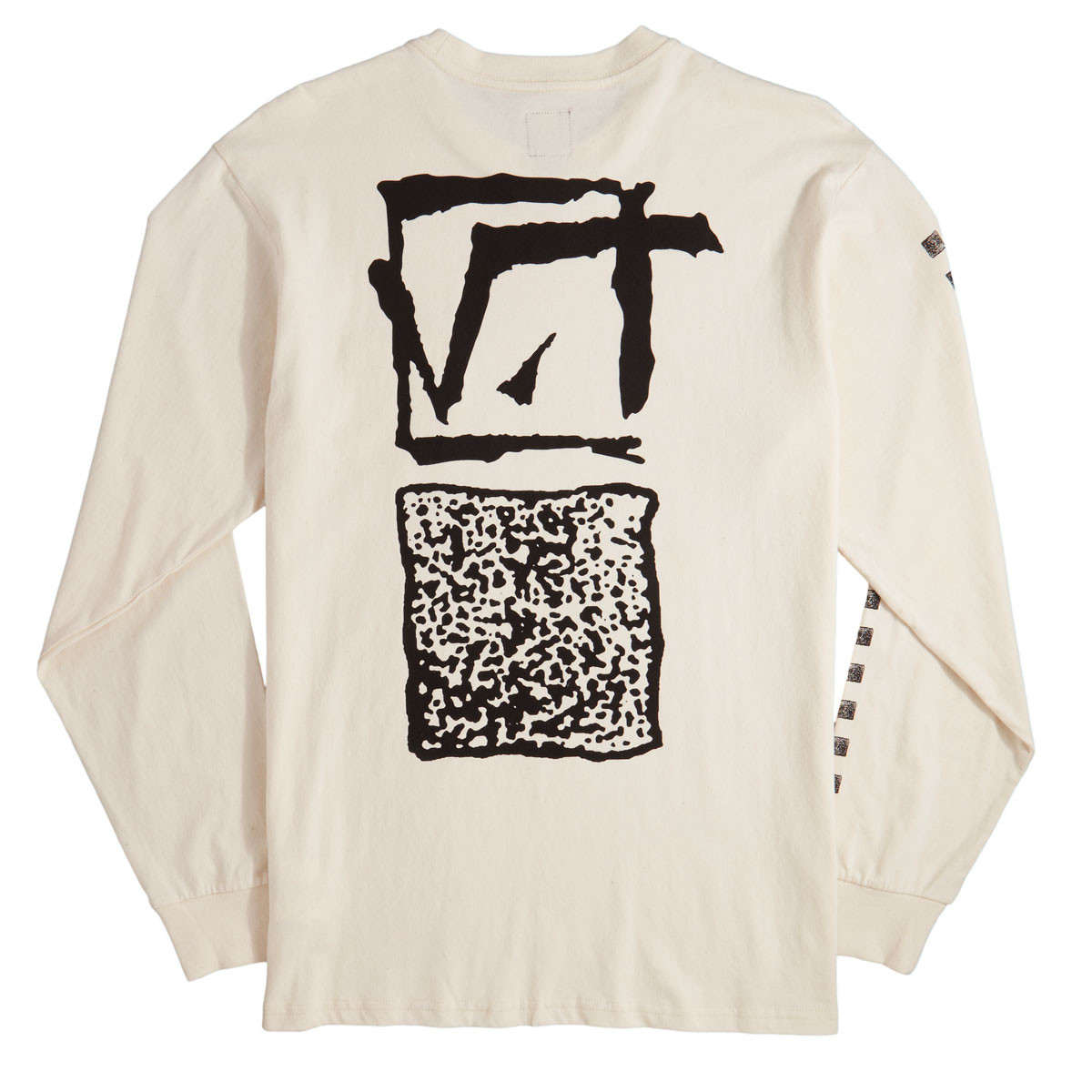 87dffcd88598 Vans Square Root Long Sleeve T-Shirt - Raw Cotton